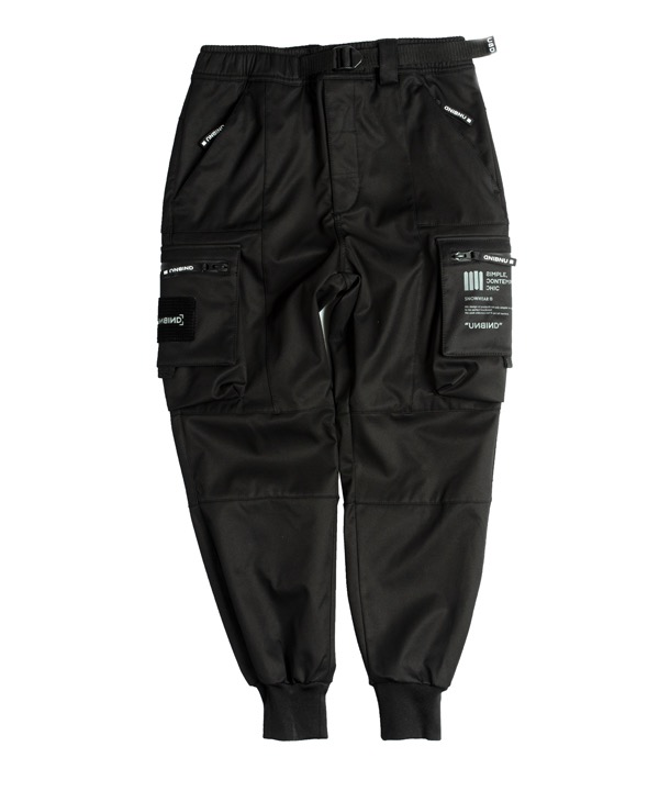 언바인드 보드복 SUPERSTAR JOGGER PANTS STANDARD / BLACK