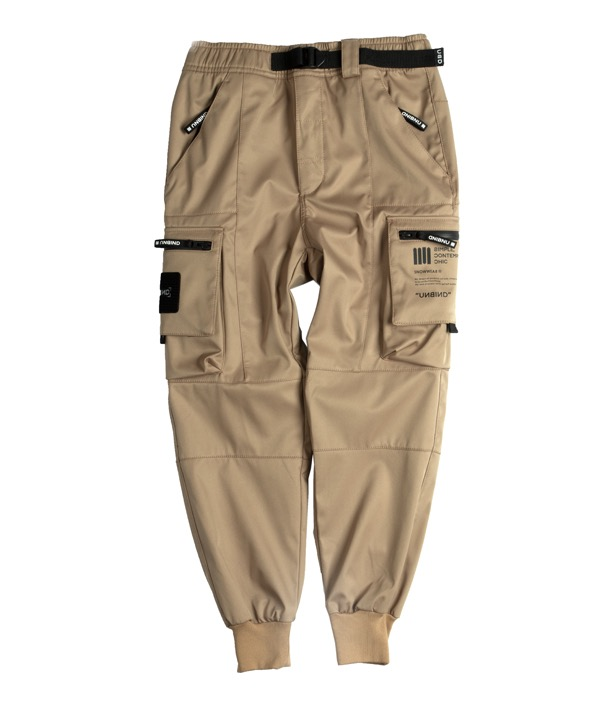 언바인드 보드복 SUPERSTAR JOGGER PANTS STANDARD / TAN